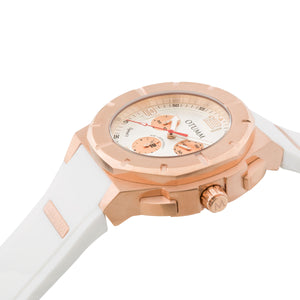 Speed II Rose Gold 003 White 45mm