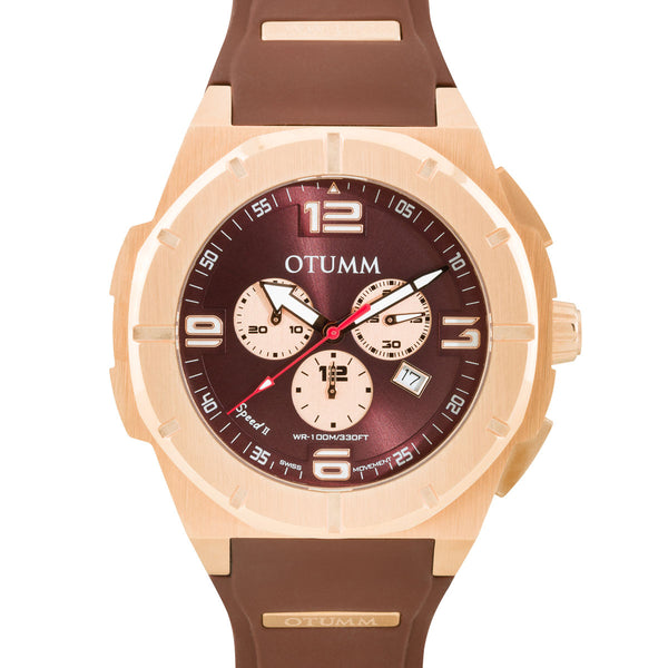 Speed II Brown 53 mm