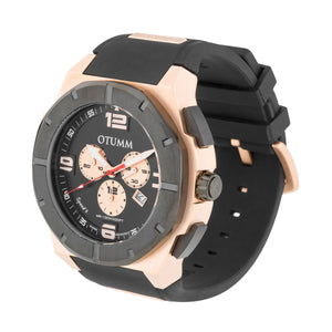 Speed II Rose Gold Black 53mm