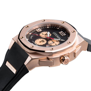 Speed Rose Gold 002 Black 53mm
