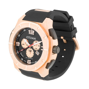 Speed II Rose Gold 011 Black 53mm