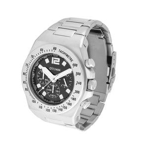 Athletics Metal Steel Strap Chrono 45mm