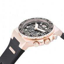Load image into Gallery viewer, Athletics II Rose Gold Black Chrono 45mm