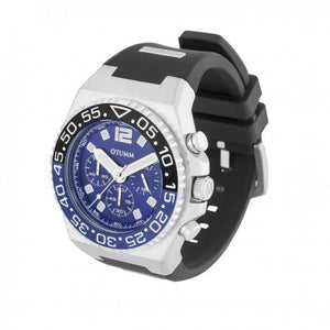 Athletics II Steel Chrono Black 45mm