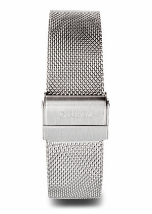 Mesh Steel White 43mm
