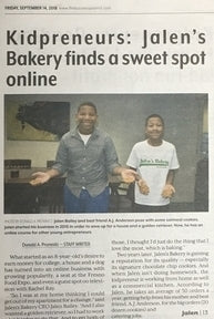 Jalen's Bakery Featured In: The Business Journal