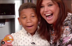 Jalen and Rachael Ray