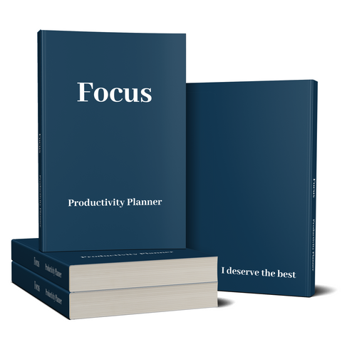 Focus 12-Month Productivity Planner