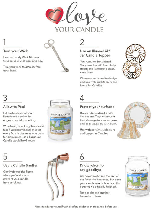 Get the most out your Yankee Candles