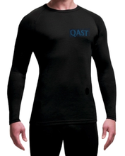 QAST Logo Avoca Men's Merino Base Layer