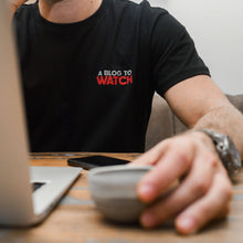 Load image into Gallery viewer, aBlogtoWatch Logo T-Shirt — Horological Apparel