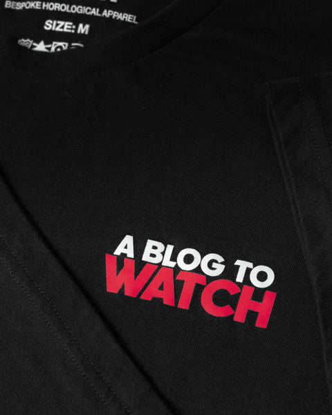 aBlogtoWatch Logo T-Shirt — Horological Apparel