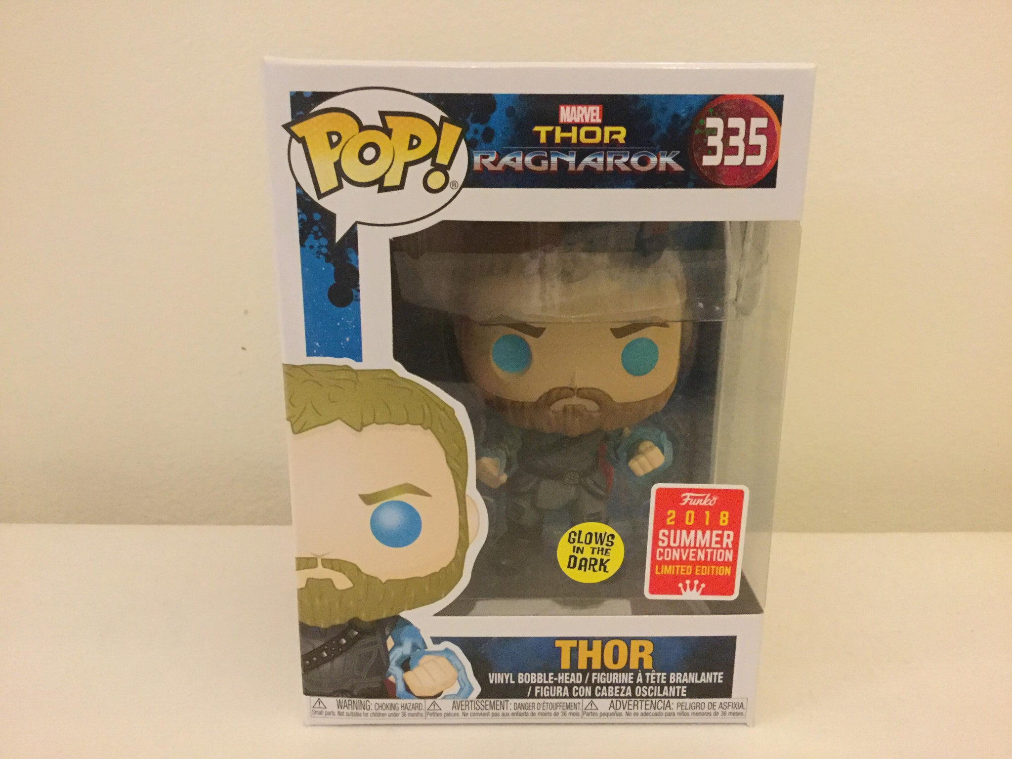 Thor 3 Ragnarok Thor With Odin Force Sdcc 2018 Us Exclusive