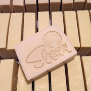 Castile (100% olive oil soap or pure luxury) nearly ready ... Love this soap it's like bathing in yogurt !! No color no scent....jpg