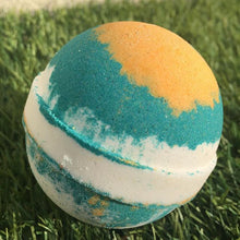 Load image into Gallery viewer, Tropicana!!!! Love the smell of this beauty!!! Coconuts, citrus and vanilla!!! Oh so good!!! Soapbyelena.jpg