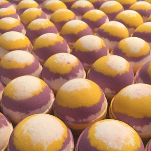 Working on 3 new bath bombs for our _perthupmarket on 24th !!! This babies are scented with sun ripened raspberries and vanilla!! On the dry