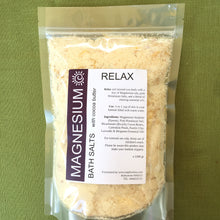Load image into Gallery viewer, Magnesium Bath Salts - RELAX