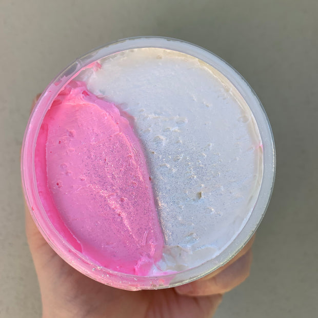 Pink Apple & Vanilla  Shower Mousse