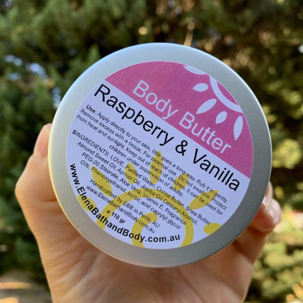 Body Butter - Raspberry & Vanilla