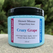 Crazy Grape Shower Mousse