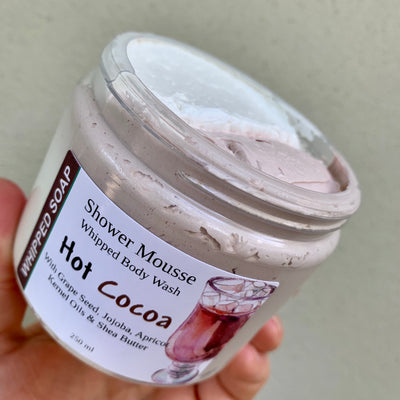 Hot Cocoa Shower Mousse