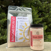 Magnesium Bath Salts  - Musk Sticks