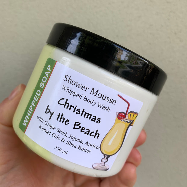 Christmas by the Beach Shower Mousse