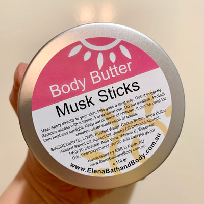 Body Butter - Musk Sticks