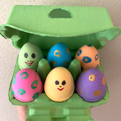 Easter Eggs - set of 6
