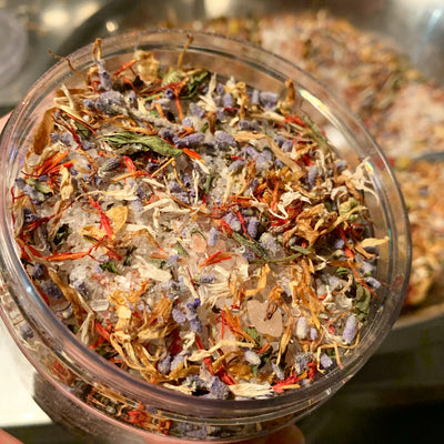 Herbal Salt Infusion Bath Tea - Sleep Easy