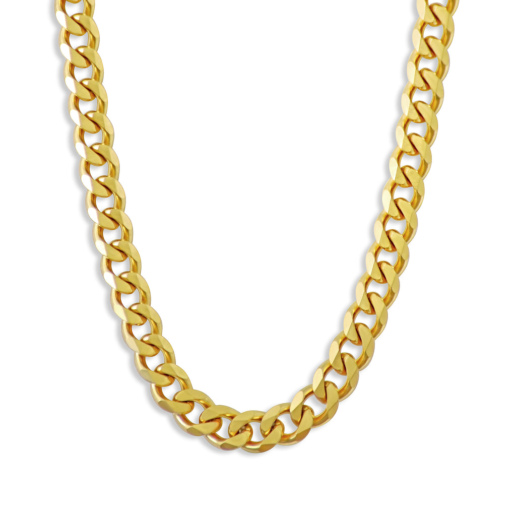 GOLD CHAIN NECKLACE - 7mm