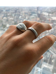 ARLO STERLING SILVER BAND RING
