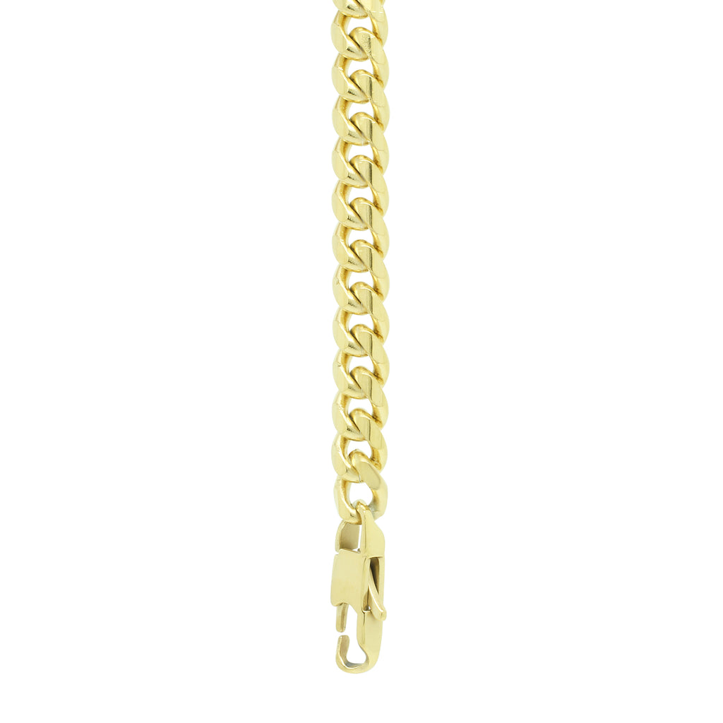 STAINLESS STEEL GOLD CHAIN BRACELET