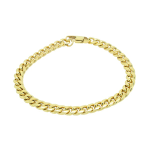 8MM CHAIN BRACELET - GOLD