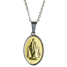 Load image into Gallery viewer, Jesus Pendant - Gold / Silver