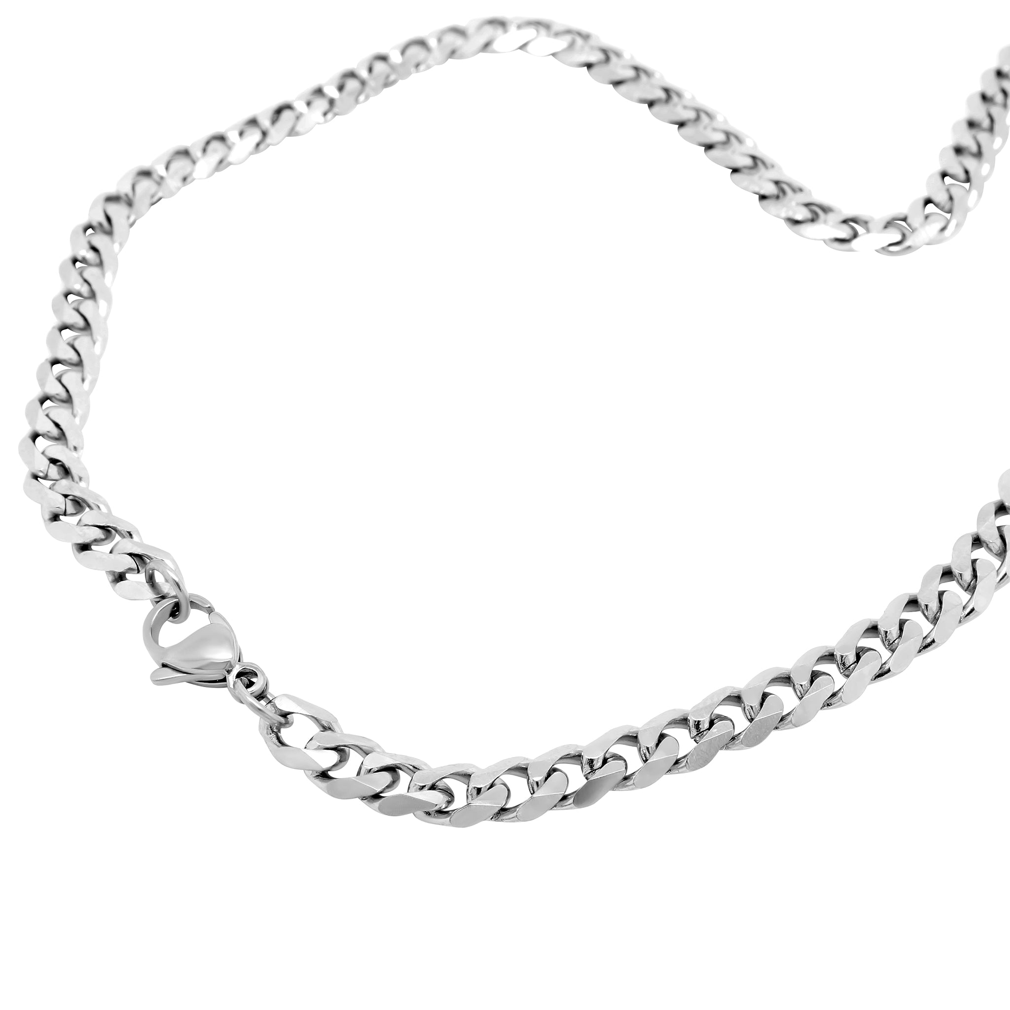 SILVER CHAIN NECKLACE - 3mm