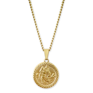ST CHRISTOPHER - GOLD