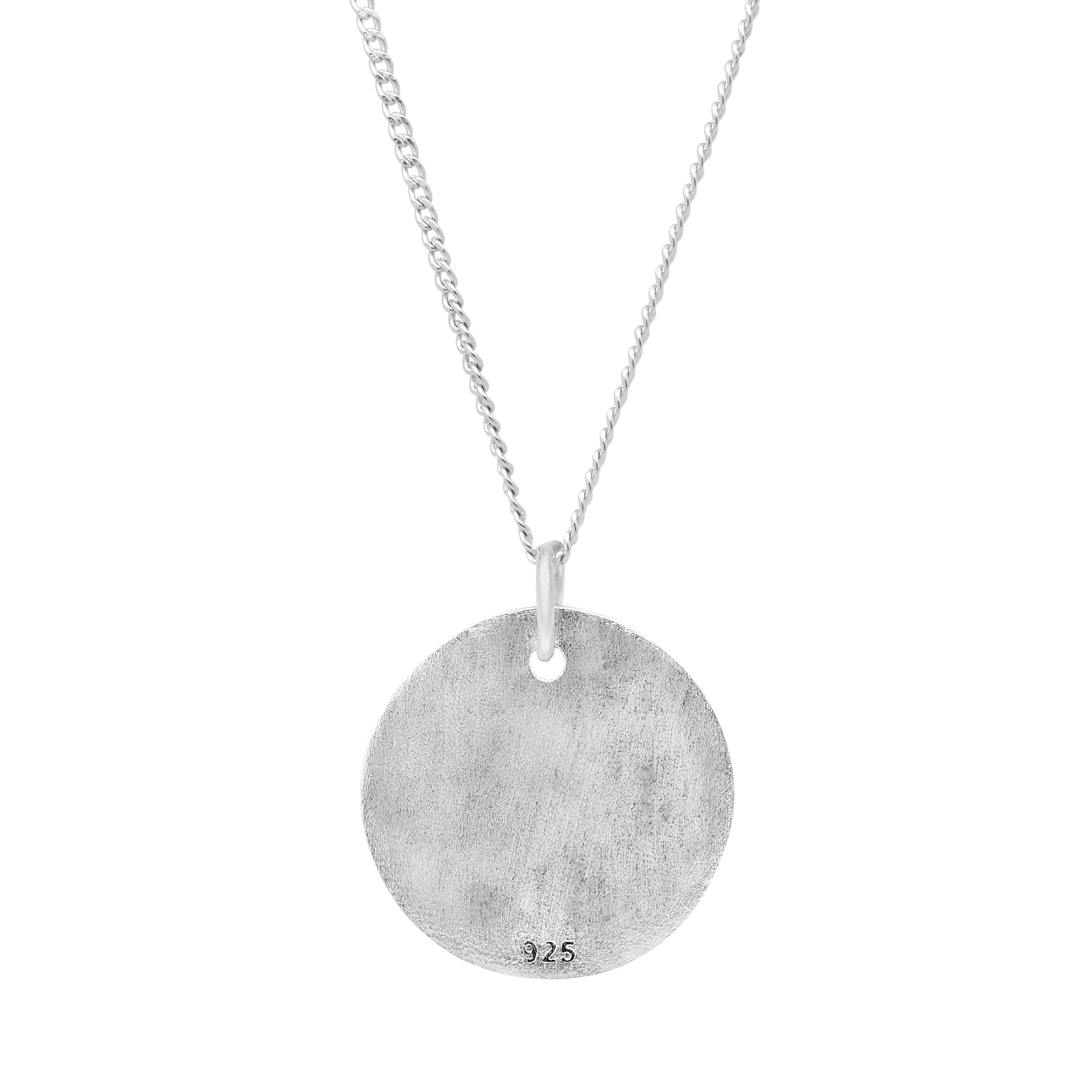 ARLO STERLING SILVER CIRCLE PENDANT