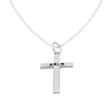Load image into Gallery viewer, ARLO STERLING SILVER CROSS PENDANT