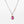 Rhodolite Garnet with Gold and Sterling Silver Necklace