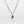 Pavé Diamond Oval Charm with Gold and Sterling Silver Necklace