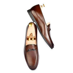 Brown Bowtie Loafers