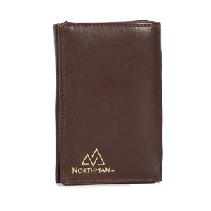 Card and Cash mini wallet in Brown : The YBR series