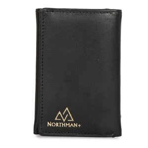 Card and Cash mini wallet in Black : The YBR series