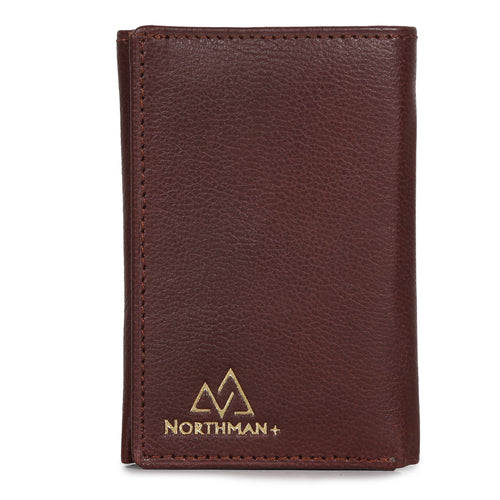 Card and Cash mini wallet in Burgundy : The YBR series