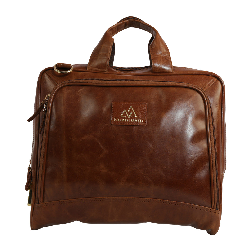 Leather Laptop Messenger Bag  : The CEO Bag