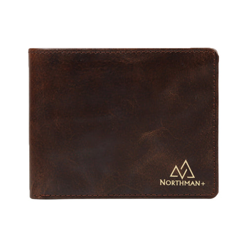 Men's Bifold Classic Slim wallet Brown