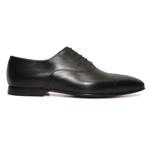 Black Captoe Oxford : Sleek Captoe