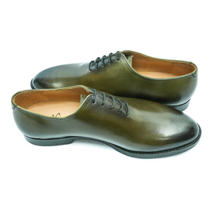 Wholecuts - Olive and black patina finish