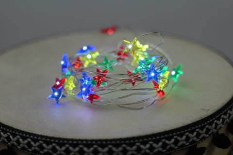 Multicolor Star Fairy Lights